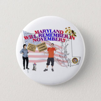 Maryland - Return Congress to the People! Button