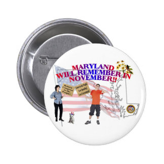 Maryland - Return Congress to the People! Buttons