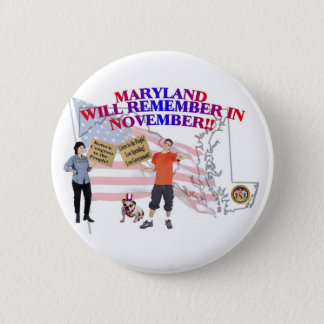 Maryland - Return Congress to the People! Pinback Button