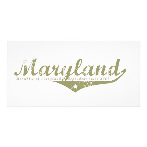 Maryland Revolution T-shirts Photo Card