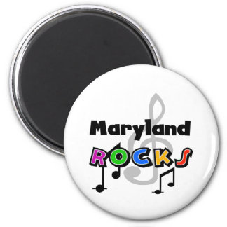 Maryland Rocks 2 Inch Round Magnet