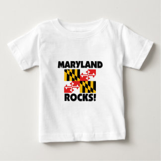 Maryland Rocks Baby T-Shirt