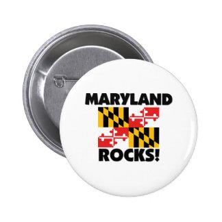 Maryland Rocks Pinback Button