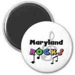 Maryland Rocks Fridge Magnets