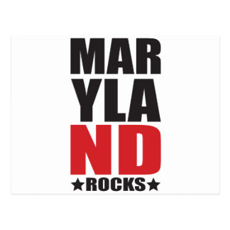 Maryland Rocks! State Spirit Gifts and Apparel Postcard