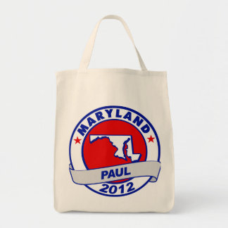 Maryland Ron Paul Canvas Bags