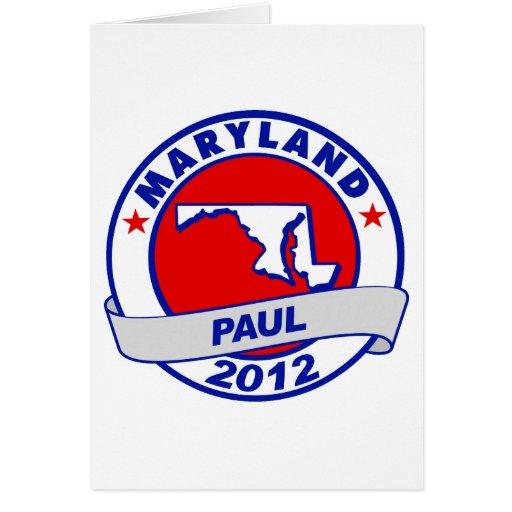 Maryland Ron Paul Felicitación
