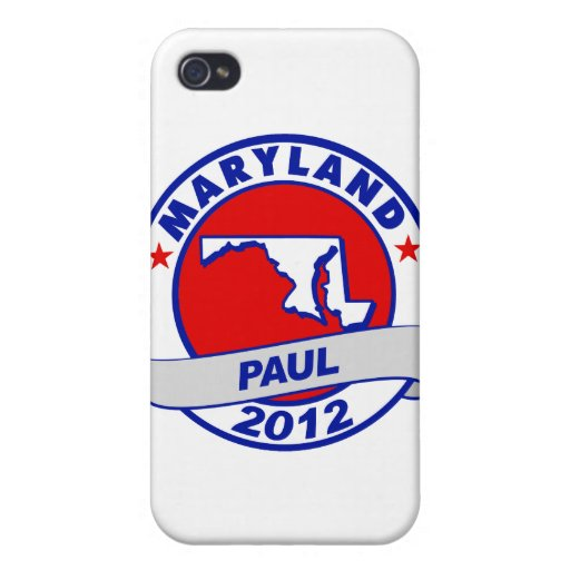 Maryland Ron Paul iPhone 4 Cover
