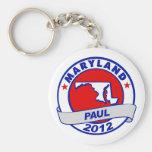 Maryland Ron Paul Key Chains