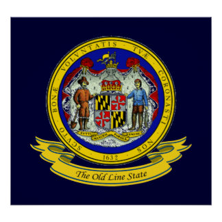 Maryland Seal Poster