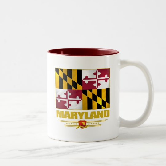 Maryland (SP) Two-Tone Coffee Mug