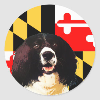 Maryland Springer Spaniel Stickers