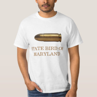 MARYLAND STATE BIRD: THE BULLET T-Shirt