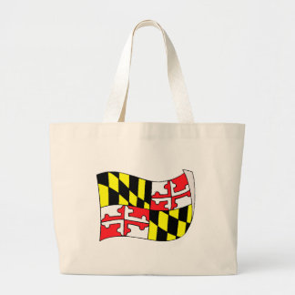 Maryland State Flag Canvas Bag