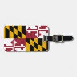 Maryland State Flag Bag Tags
