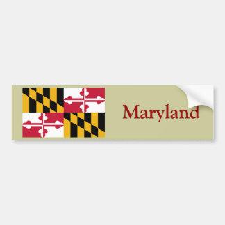 Maryland State Flag Bumper Sticker
