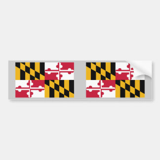 Maryland State Flag Bumper Stickers