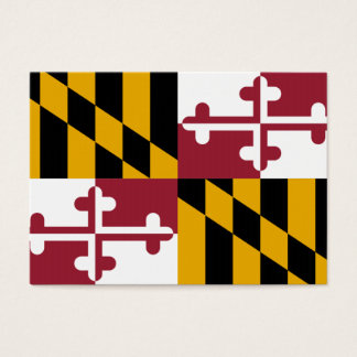Maryland State Flag Business Card