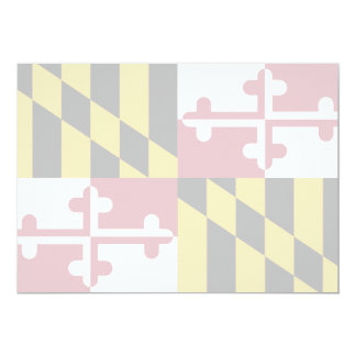 Maryland State Flag Card