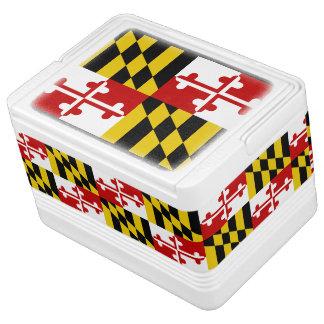 Maryland State Flag Cooler