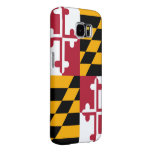 Maryland State Flag Custom Design Samsung Galaxy S6 Cases