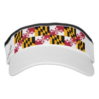 Maryland State Flag Custom Design Visor