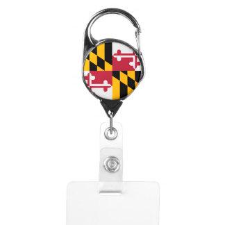 Maryland State Flag Design Badge Holder
