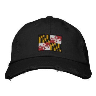 Maryland State Flag Design Cap