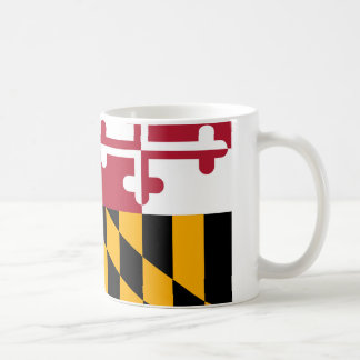 Maryland State Flag Design Coffee Mug