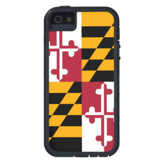 Maryland State Flag Design Decor Case For iPhone SE/5/5s