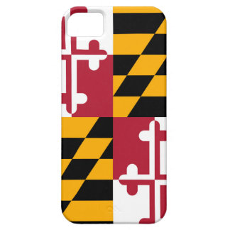 Maryland State Flag Design Decor iPhone SE/5/5s Case