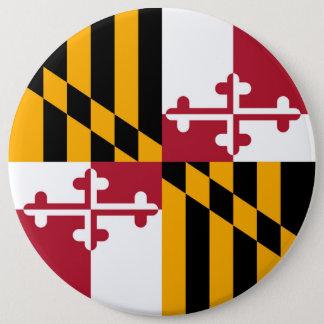 Maryland State Flag Design Decoration Button