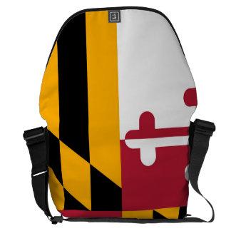 Maryland State Flag Design Display Messenger Bag