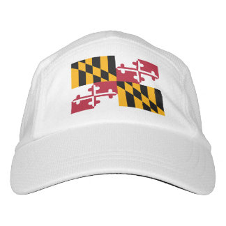 Maryland State Flag Design Headsweats Hat