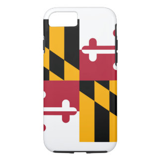 Maryland State Flag Design iPhone 8/7 Case