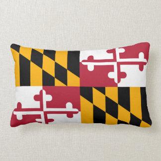 Maryland State Flag Design Lumbar Pillow
