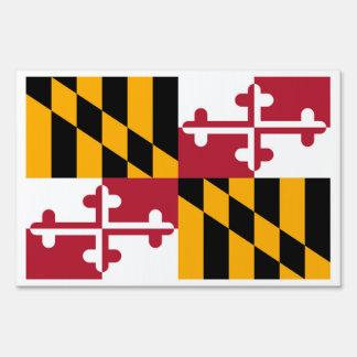 Maryland State Flag Design Sign