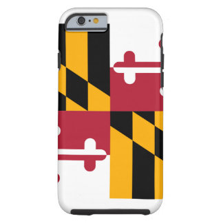 Maryland State Flag Design Tough iPhone 6 Case