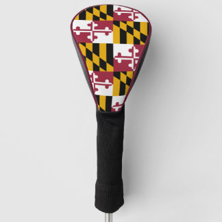 Maryland State Flag Golf Head Cover