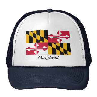 Maryland State Flag Trucker Hat