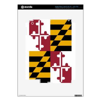 Maryland State Flag iPad 3 Skins