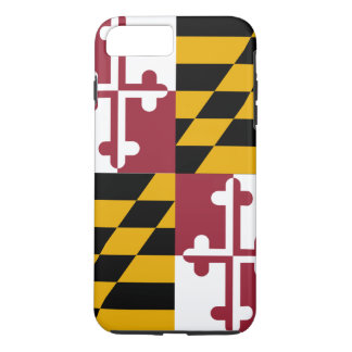 Maryland State Flag iPhone 7 Plus Case