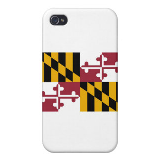 Maryland State Flag iPhone 4 Cases