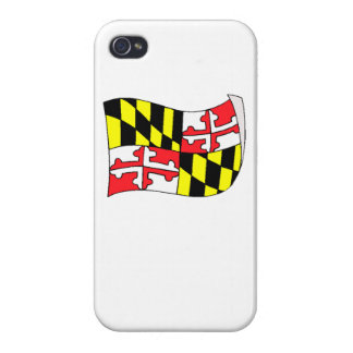 Maryland State Flag iPhone 4/4S Case