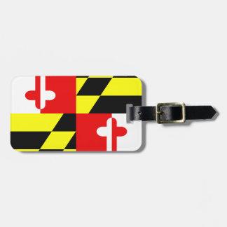 Maryland State Flag Luggage ID Tag
