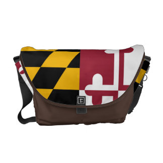 Maryland State Flag Messenger Bags