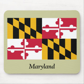 Maryland State Flag Mouse Pad