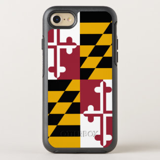 Maryland State Flag OtterBox Symmetry iPhone 8/7 Case