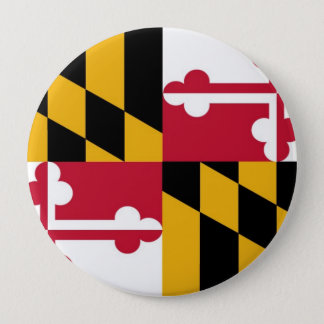 Maryland State Flag Pinback Button