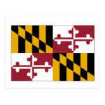 Maryland State Flag Post Cards